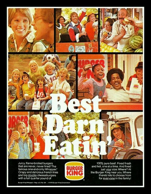 1979 Burger King. Retro Advertising, Retro Ads, Vintage Advertisements,  Vintage Ads,