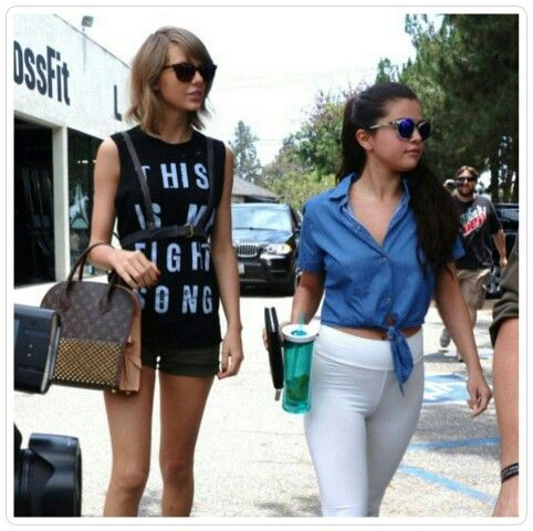 16 Juin; Selena Gomez et Taylor Swift