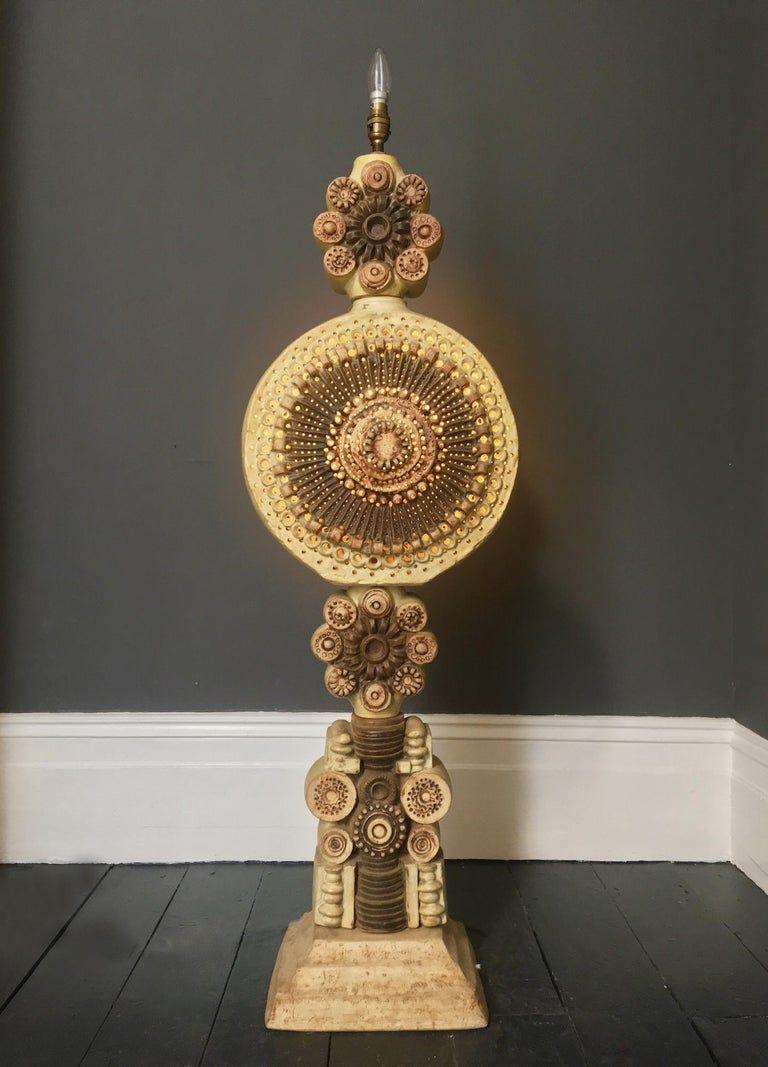 Pin By Elizabeth Burke Dain On Art Ceramics In 2020 Vintage Floor Lamp Ceramic Floor Lamps Floor Lamp