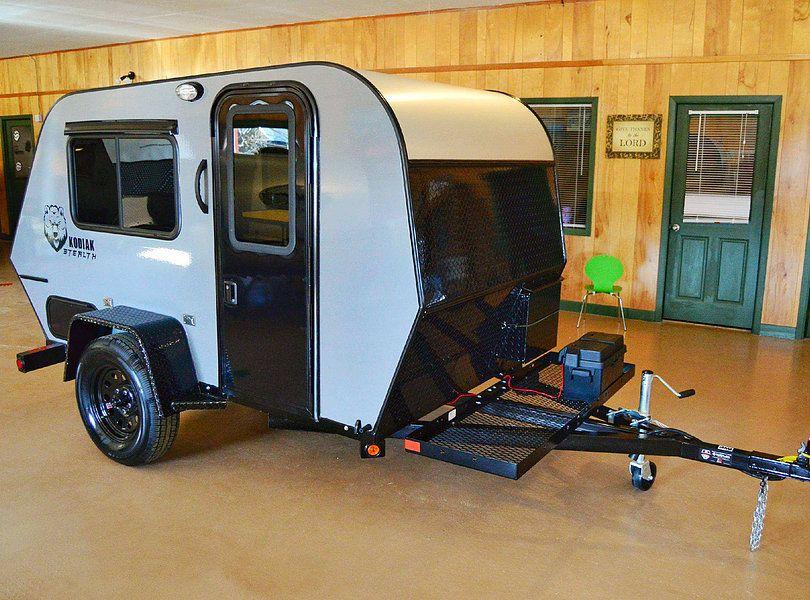 Rustic Trail Teardrop Campers Kodiak Stealth Diy Camper