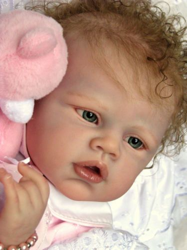 Reborn baby doll new release angelina by romie strydom nowsabrina