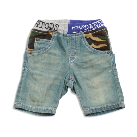 Dino Pocket Denim Shorts Sky Blue With Images Cute Boy Outfits Cool Outfits Boy Outfits