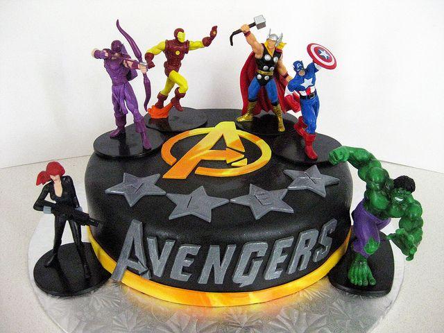 Avengers Cake In 2019 Avengers Birthday Cakes Birthday