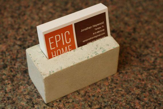 Concrete Business Card Holder-Glow in the Dark | Studio ...