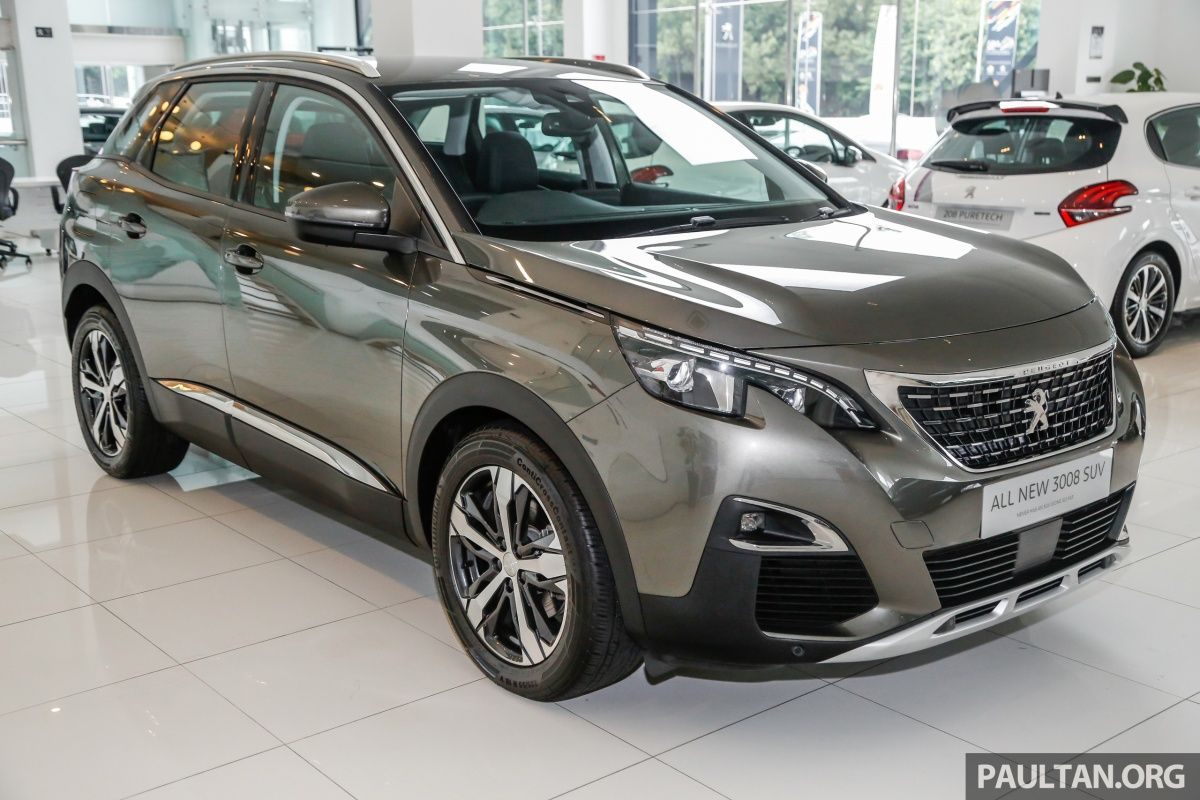 2017 Peugeot 3008 launched in Malaysia - 1.6L turbo engine, two ...