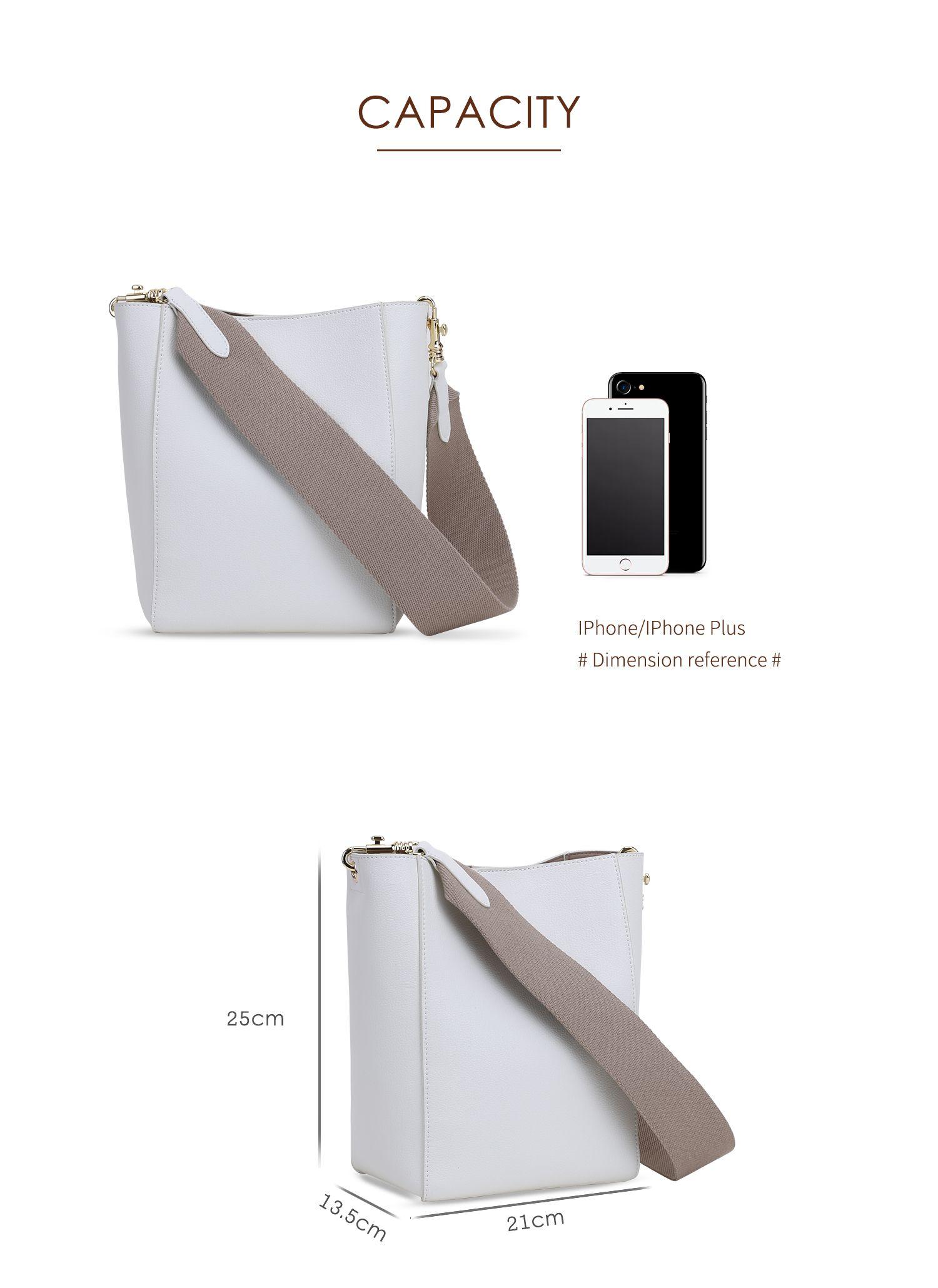 9f23c76ff546 Купить Сумки. HFresh 2018 новая мода минималистский пригородных сумка  коровьей женская сумка с широким плечевым