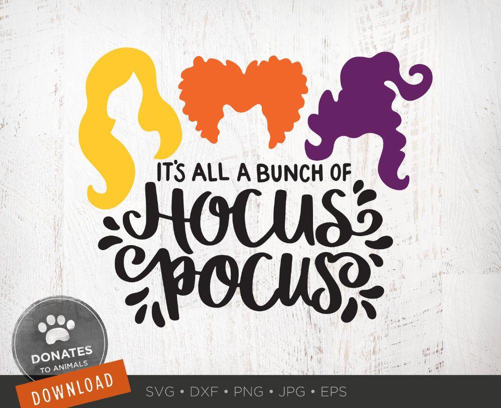 Hocus Pocus Svg Sanderson Sisters Svg Witches Hair Cute Etsy Cricut Svg Hocus Pocus