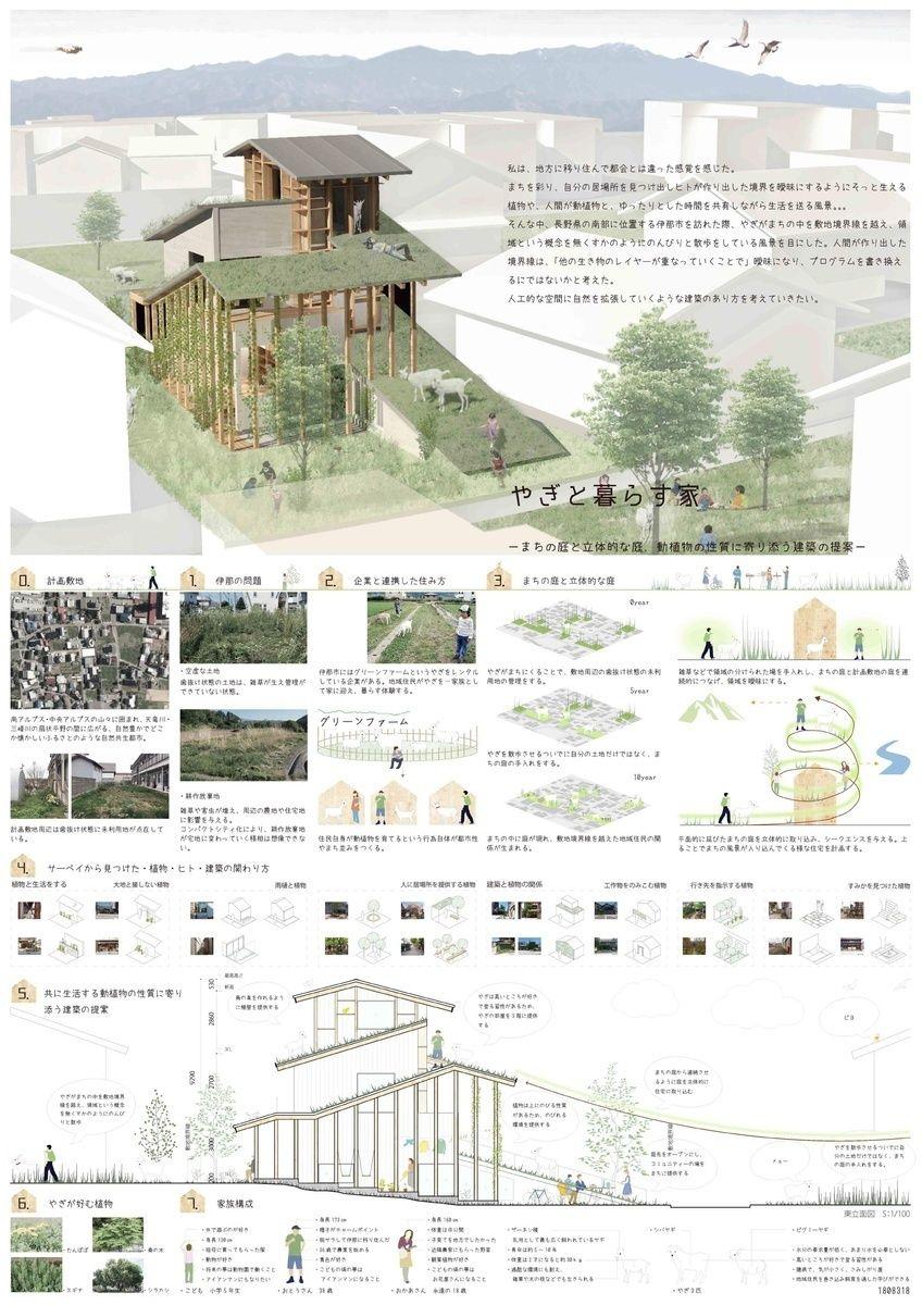 受賞作品 木の家設計グランプリ 設計コンペ 建築コンペ 建築