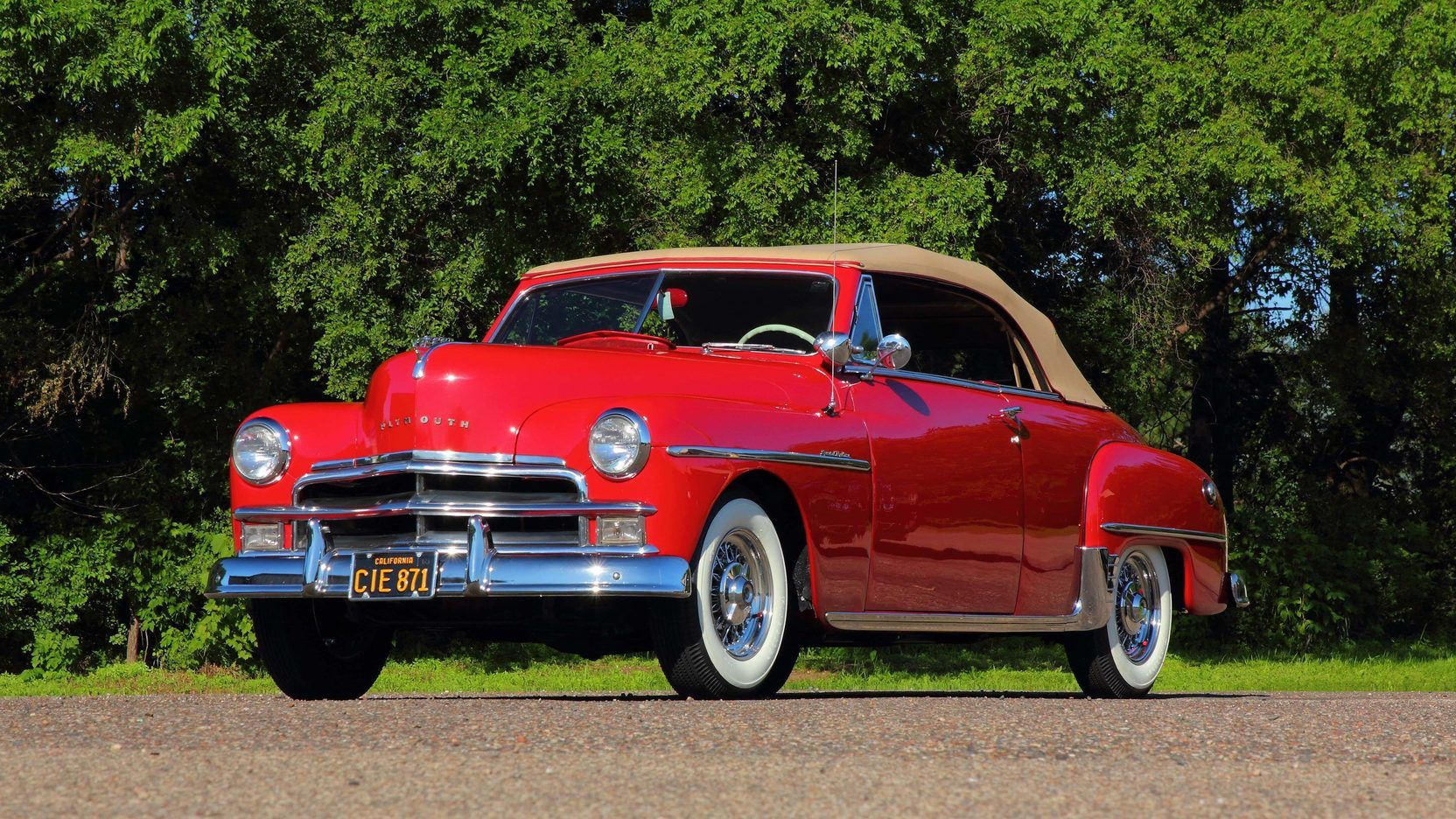1950 Plymouth Special Deluxe Presented As Lot F62 At Monterey Ca Plymouth Pontiac Catalina Special