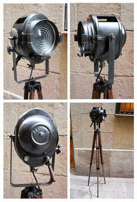 Foco De Cine Vintage Focos Decoracion De Unas Cine