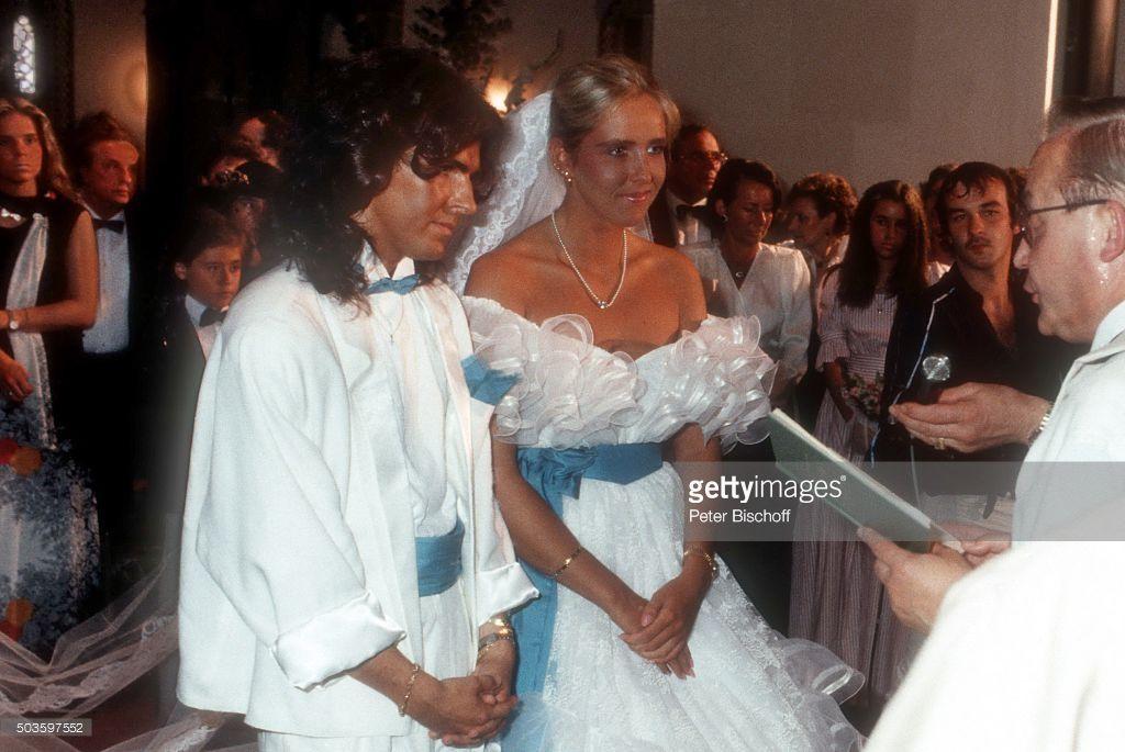 Thomas Anders Ehefrau Nora Anders Kirchliche Hochzeit Am In Der Thomas Anders Thomas Anders Modern Talking Ceremony