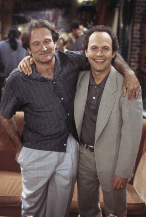 Still of Robin Williams and Billy Crystal in Friends (1994 ...