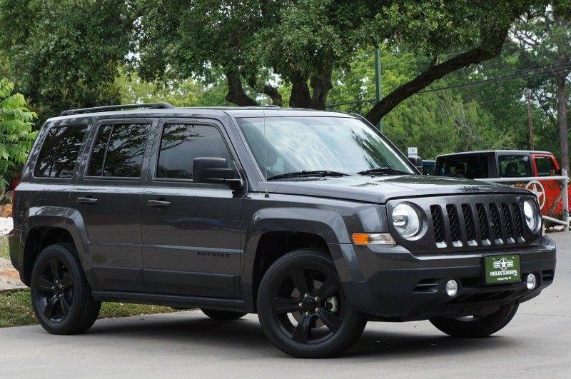 2014 Grey Jeep Patriot 12995 Jeep Patriot 2014 Jeep Patriot Jeep