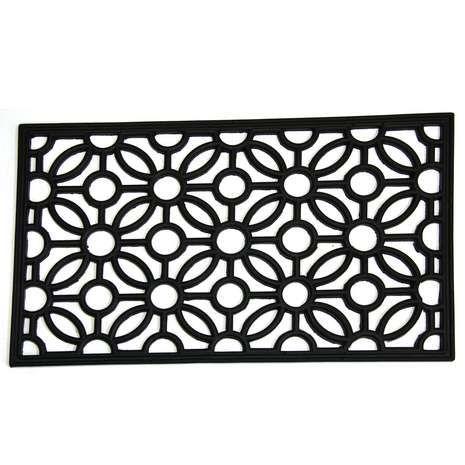 Floral Rubber Doormat Home Doormats Pinterest Flooring Rugs
