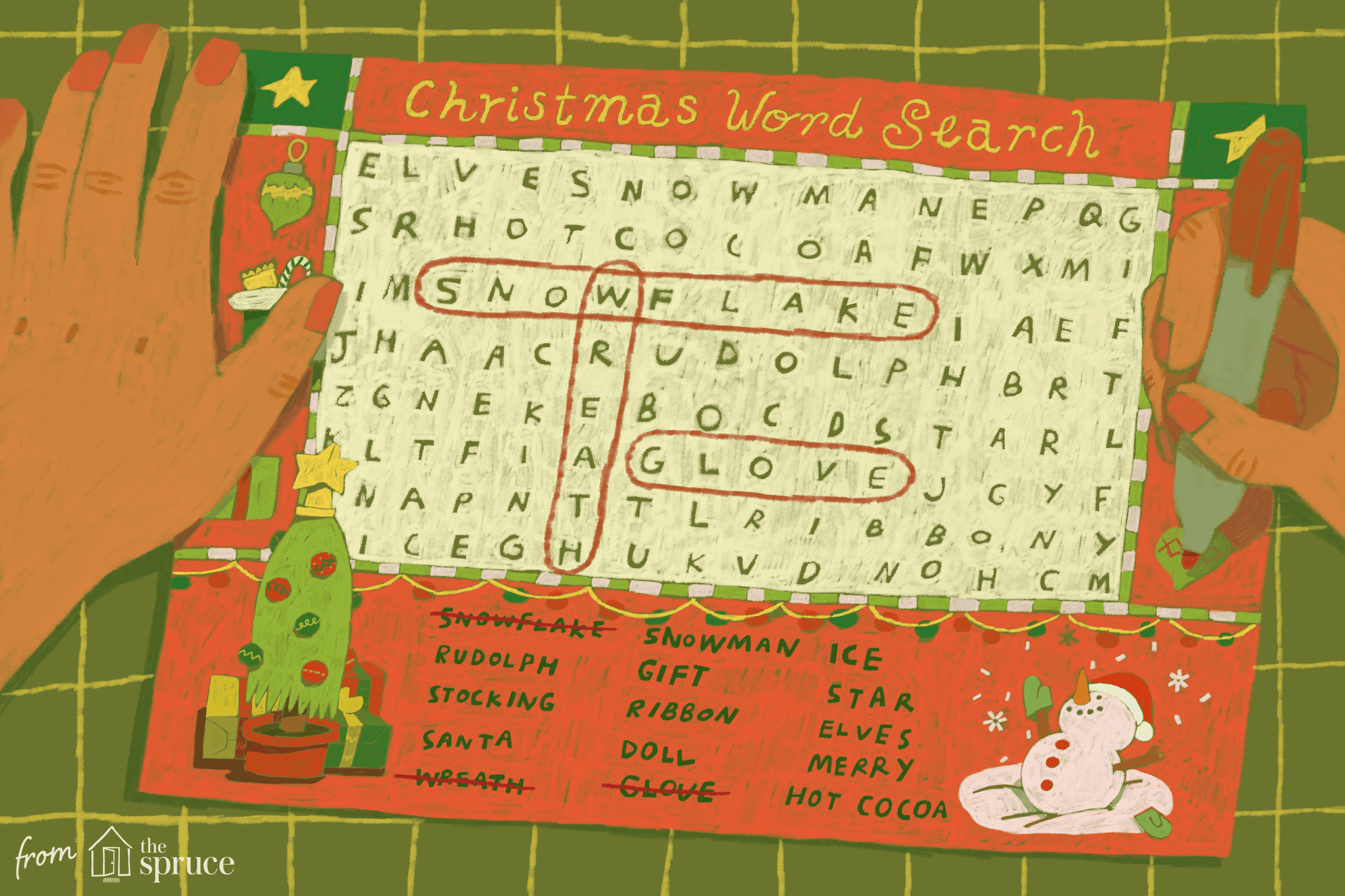 A Huge List Of Christmas Word Search Puzzles Divided By