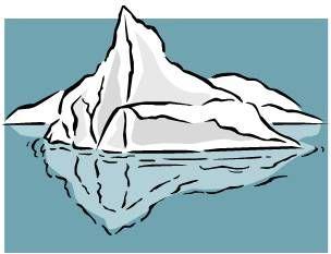 iceberg ab idea board pinterest art clipart and clip art rh pinterest com cartoon iceberg clipart iceberg clipart free