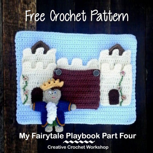 The Fairy Tale Playbook Part Four, a fun \'quiet\' crochet playbook ...