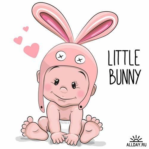 Cute Cartoon Baby Leuke Strip Babykaarten Baby Cartoon