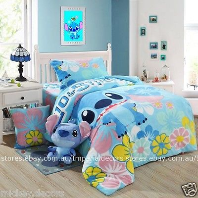 Best Winter Bedding Set Lilo Stitch Cartoon Duvet Cover 640 x 480