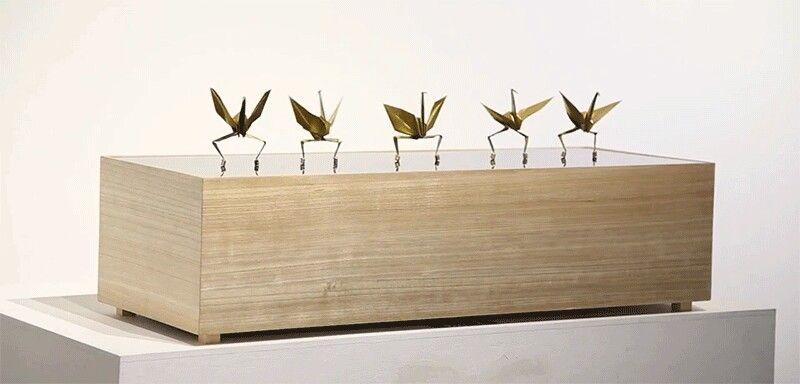 Dancing origamis