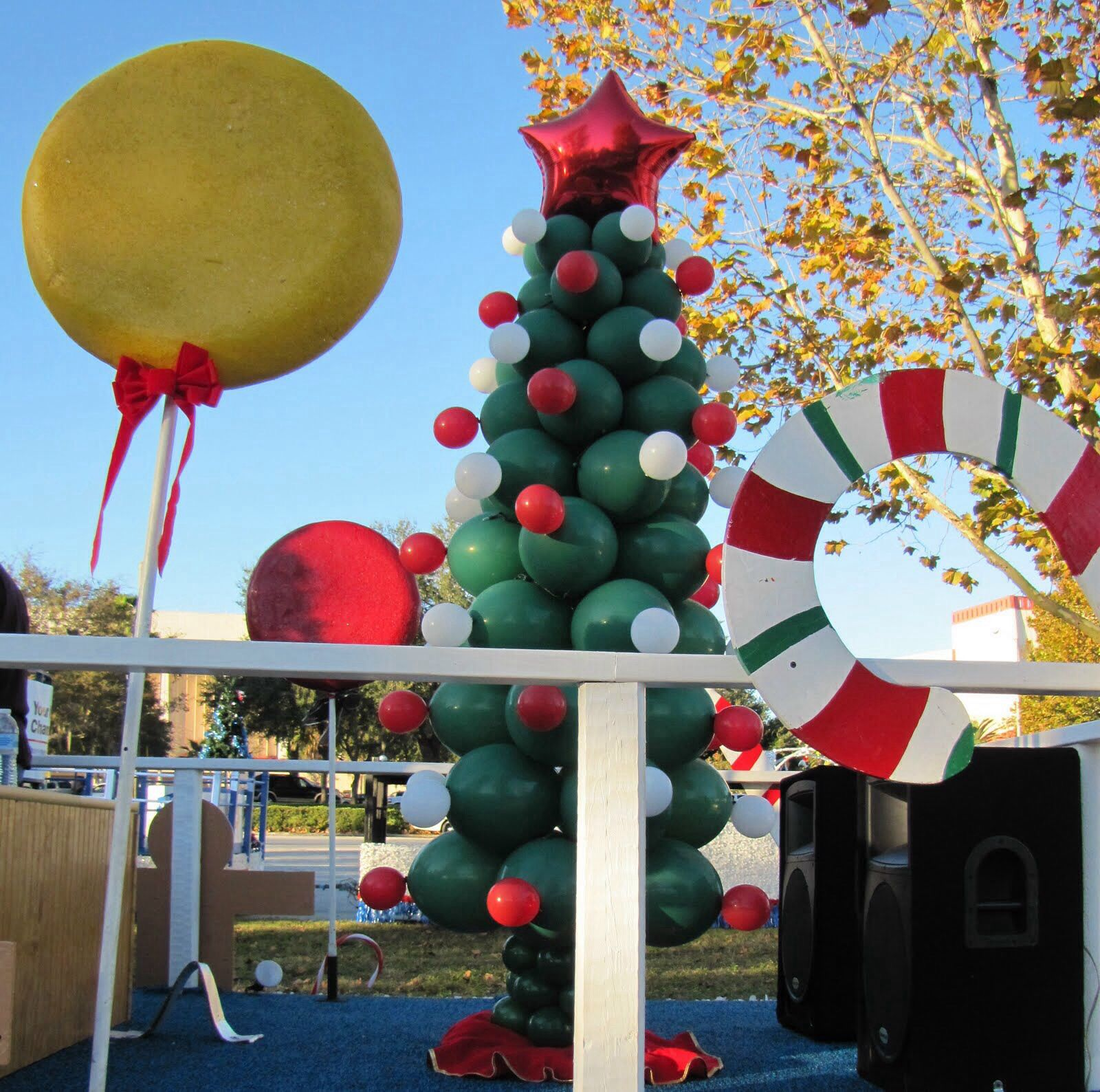 Christmas Night Parade Float: Ideas For Christmas Floats