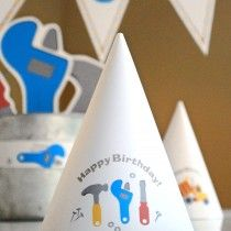 Under Construction Printable Birthday Party