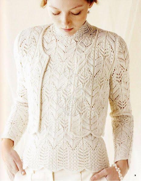 осинка пуловеры жакеты кардиганы туники кофты Knitting
