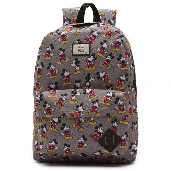 702618dc6443 Vans Disney Old Skool II Backpack Mickey Mouse