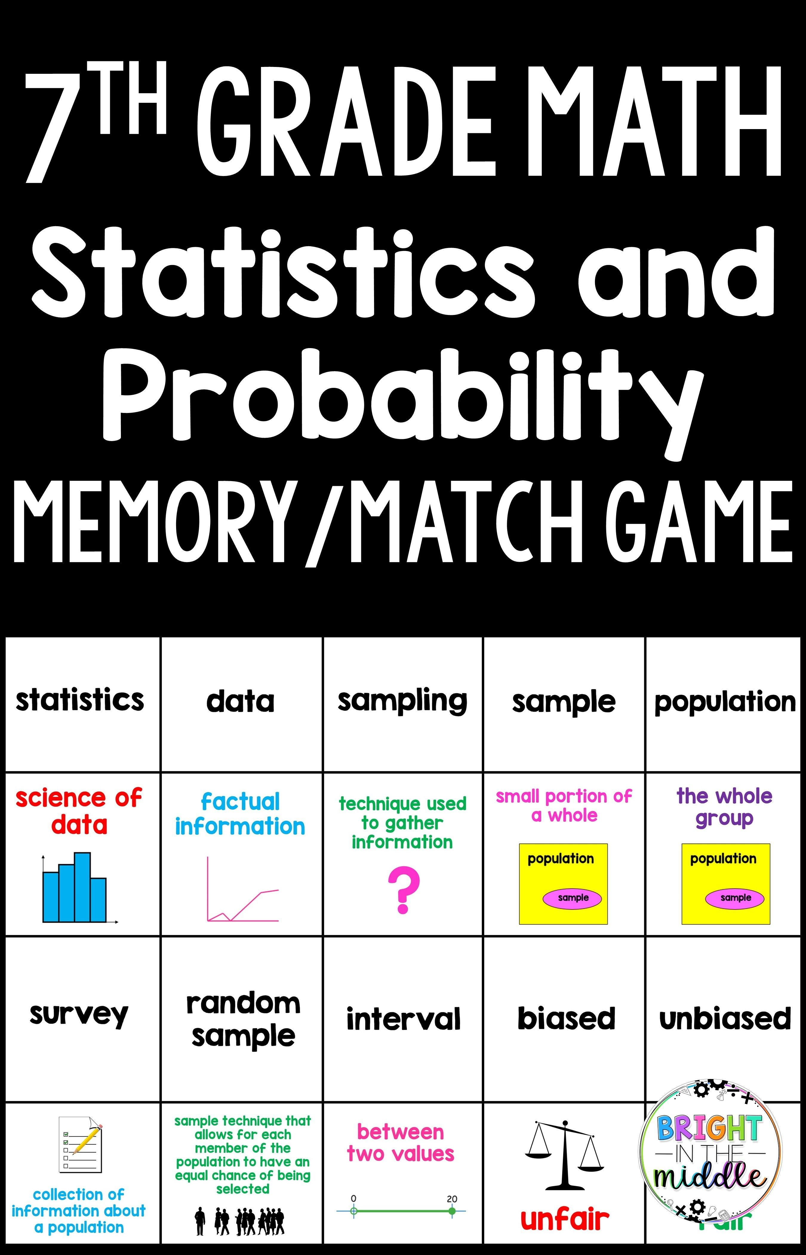 Probability Worksheets 7th Grade Math   Printable Worksheets and Activities  for Teachers [ 4200 x 2700 Pixel ]