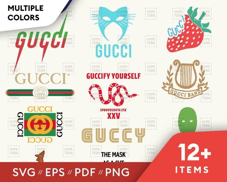 Pin On Gucci Svg Vector Image Logo Files