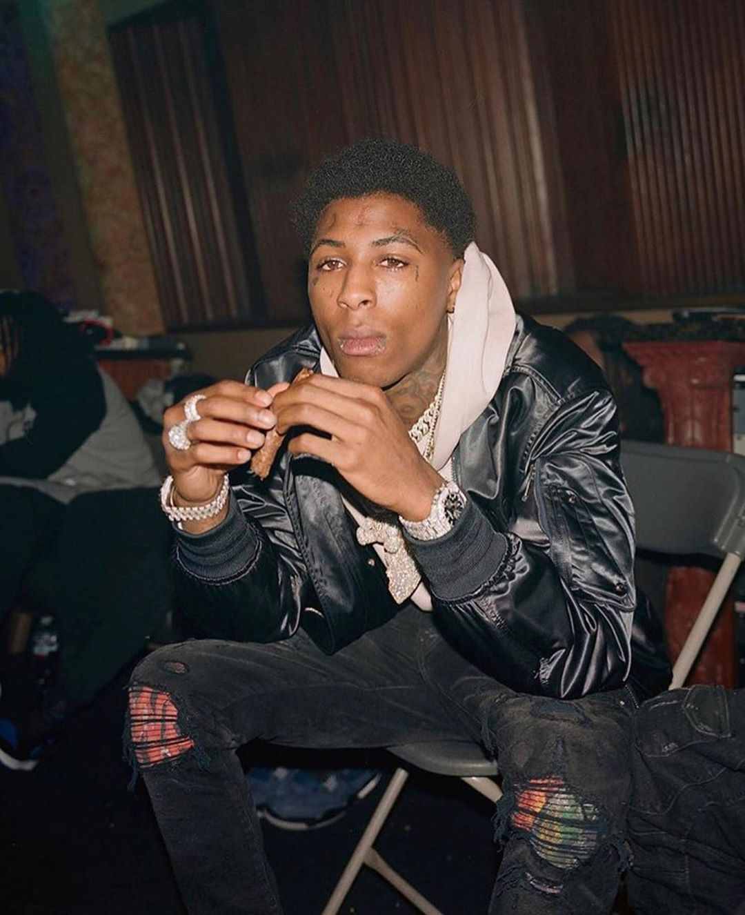 Image Result For Nba Youngboy And Draco His Son Wallpaper Nba Outfit Cute Rappers Nba Baby