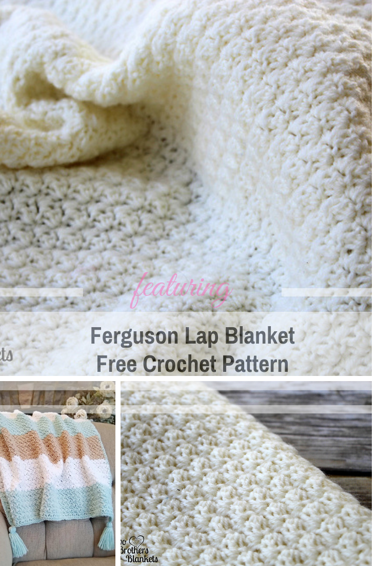 This Crochet Textured Lap Blanket Is A Wonderful Project