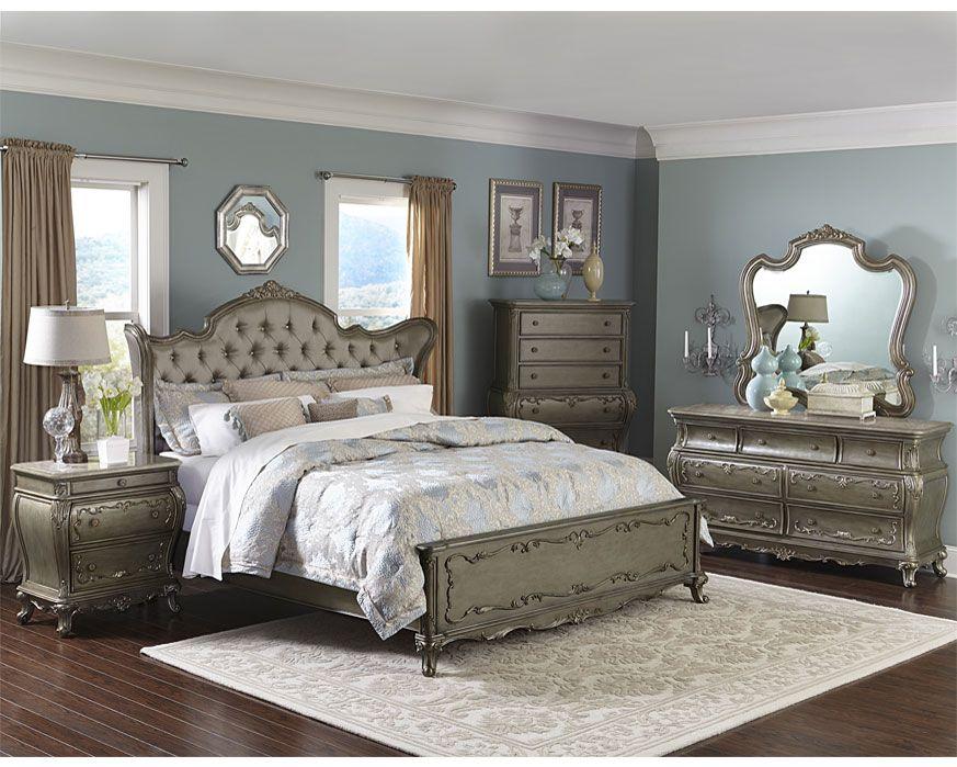 Queen Bedroom Set 1867 Qbs Florentina Furniture Factory Direct