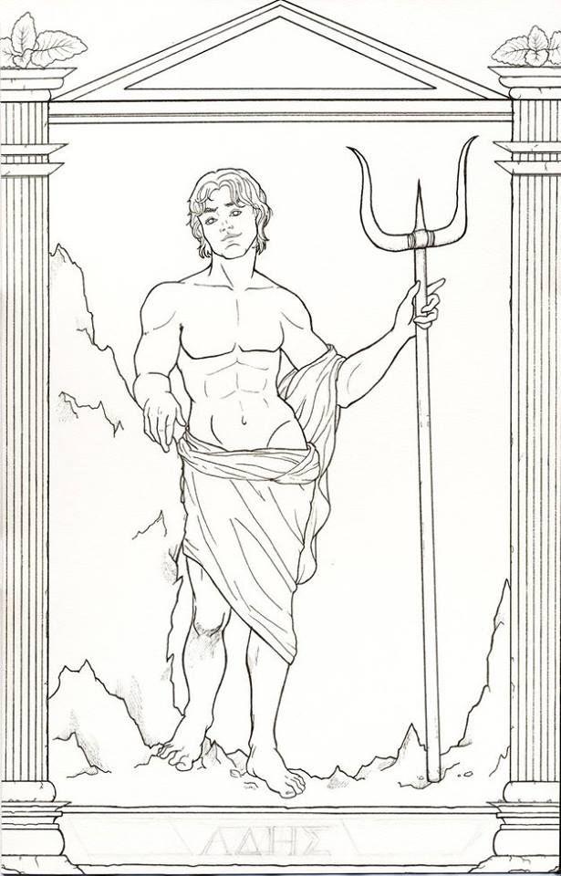 Großartig Griechischen Gott Malvorlagen Ideen - Entry Level Resume ...