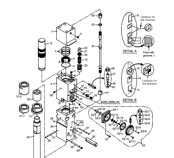 Pin on Hydraulic breaker | Hydraulic Breaker Schematic |  | Pinterest