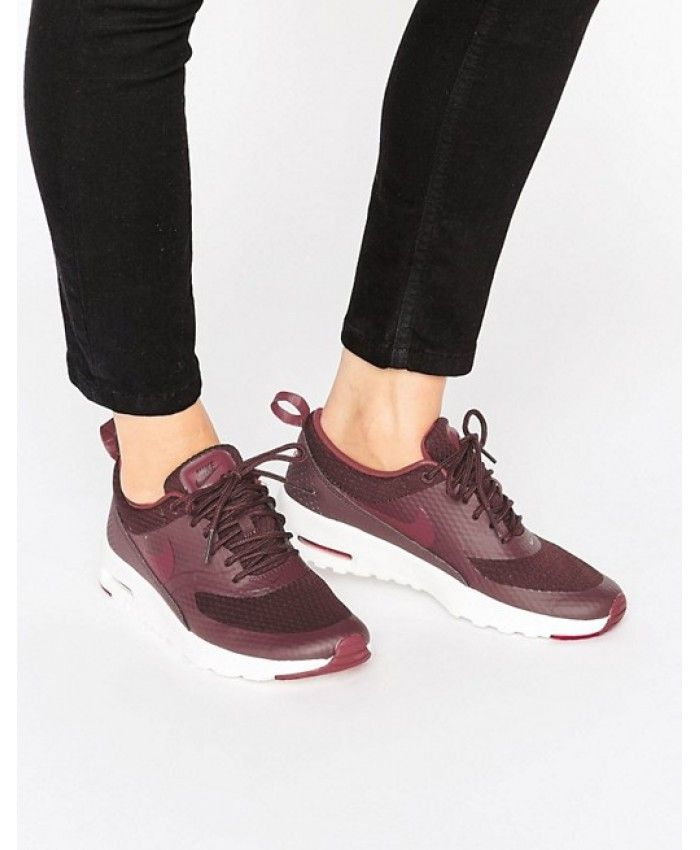 autumn shoes save up to 80% best service Nike Air Max Thea In Burgundy | Nike air max thea, Nike thea, Nike ...