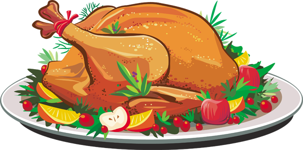 Christmas Dinner Clipart Png In 2020 Thanksgiving Turkey Dinner Thanksgiving Turkey Roasted Turkey