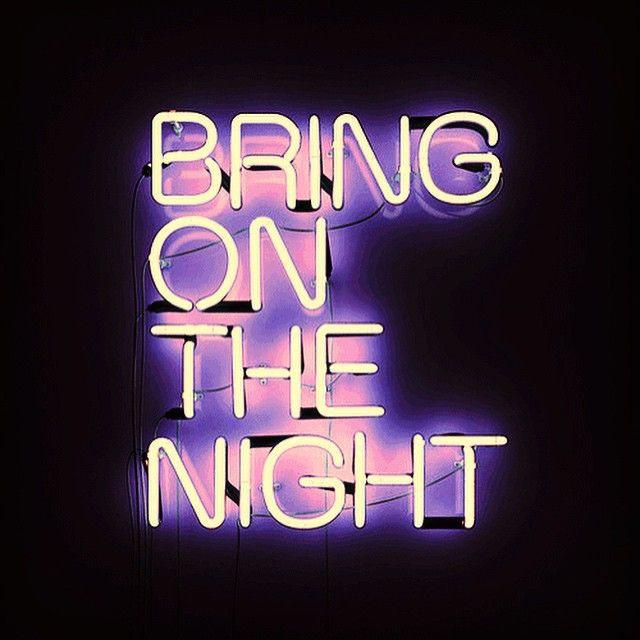 Let's go. | Quotes & Sayings | Neon Signs, Neon quotes ...
