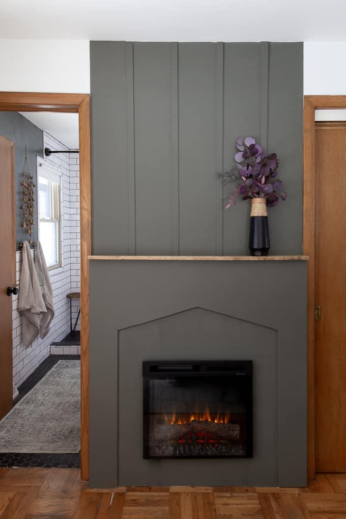 Diy Board And Batten Fireplace Fireplace Diy Boards