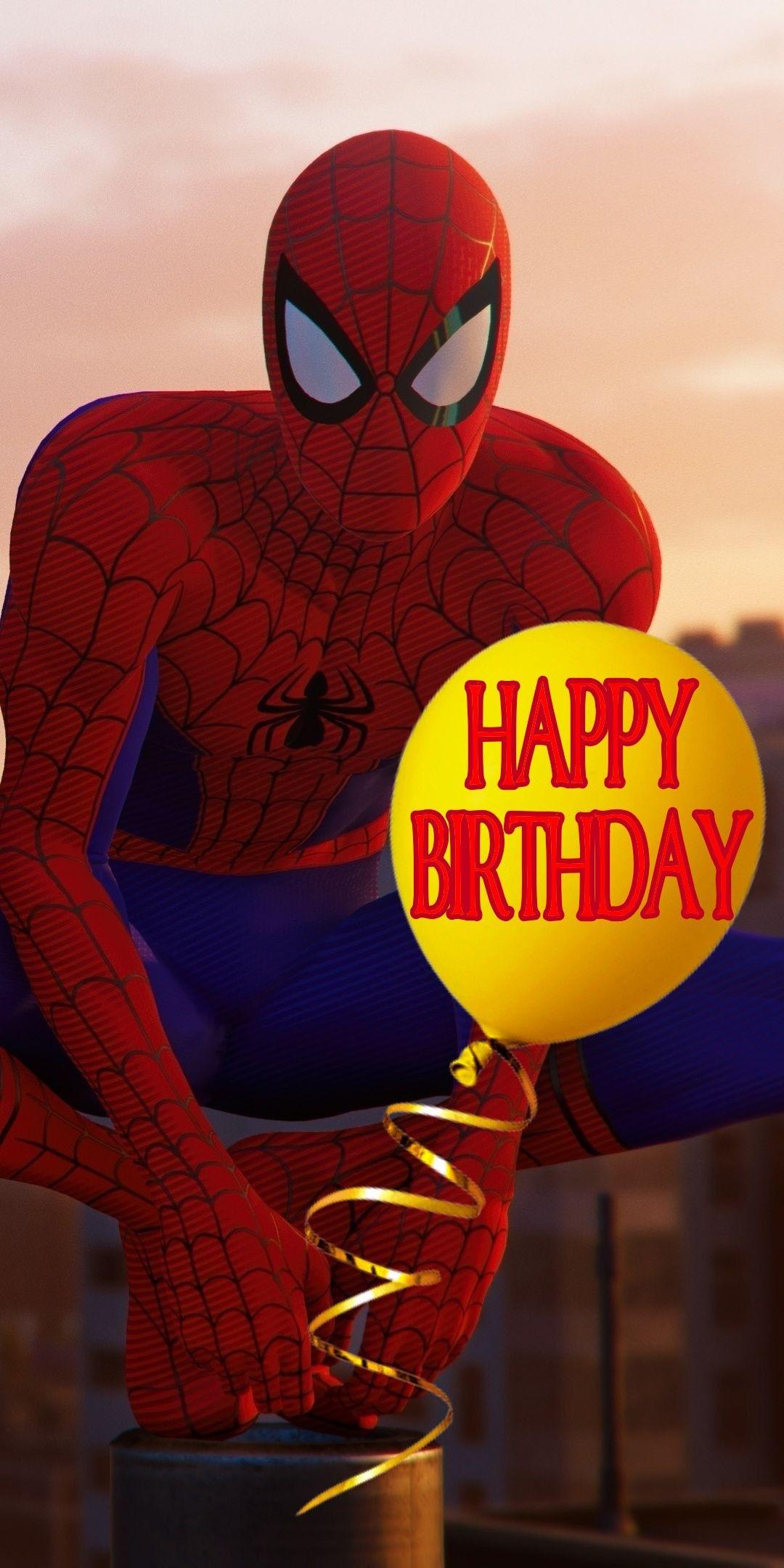 Happy Birthday Spiderman Happy Birthday Spiderman Birthday Wishes For Kids Spiderman Birthday