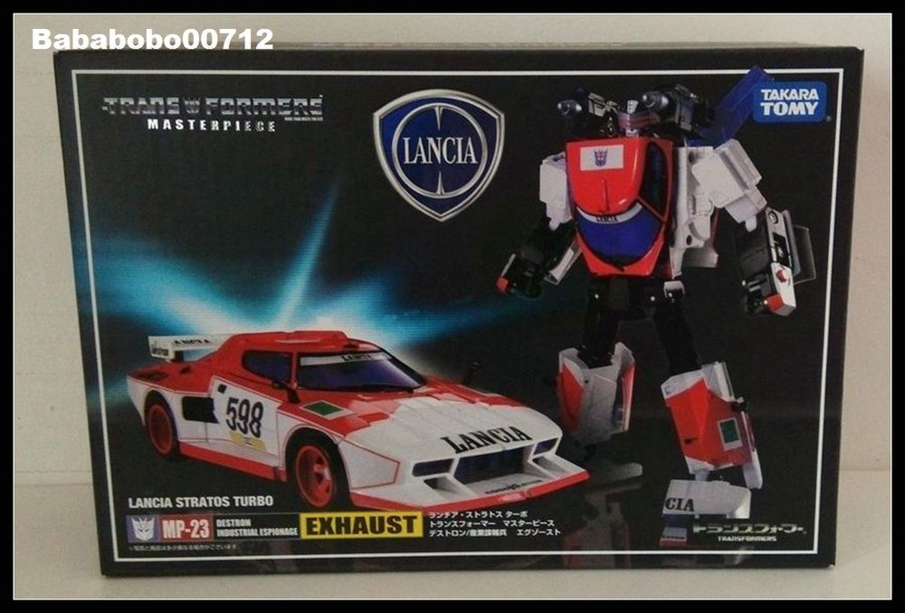 Transformers Masterpiece MP-20 Wheeljack Lancia Stratos Turbo Takara Tomy