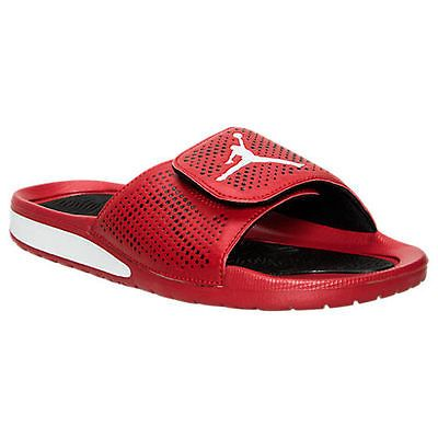 Nike Jordan Hydro 5 Gs Big Kids 820258-601 Gym Red Sandals Slides Youth Size 7