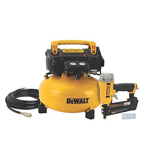 Dewalt Dwc1kit B Brad Nailer And Compressor Combo Kit Dewalt Combo Kit Electric Air Compressor Dewalt