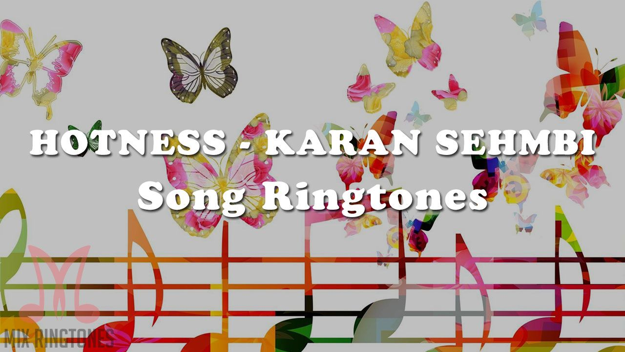 Hotness Song Ringtone Download in 2020 Ringtone download