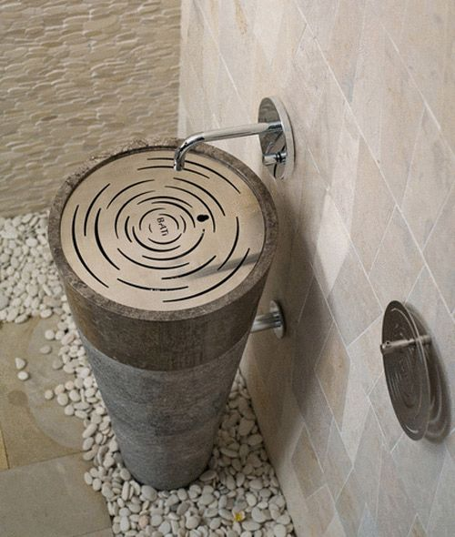 Unique Pedestal Sinks By Bati Bathroom Sink Design Modern