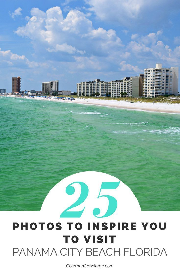 WARNING: These 25 photos will inspire you to plan a Panama City Beach getaway today! Read only if you are ready to experience one of the most picturesque beaches in Florida. #PanamaCityBeach #RealFunBeach #Florida #BeachVacation