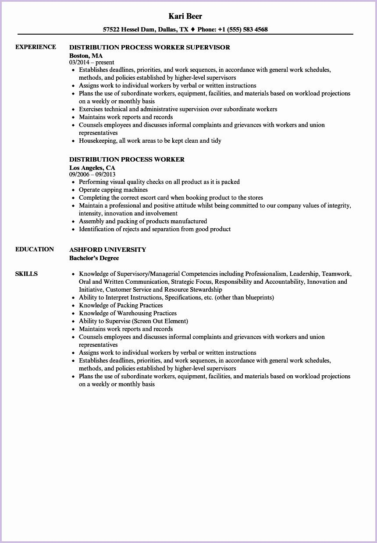 Factory Worker Resume Job Resume Examples Resume Examples Job Resume