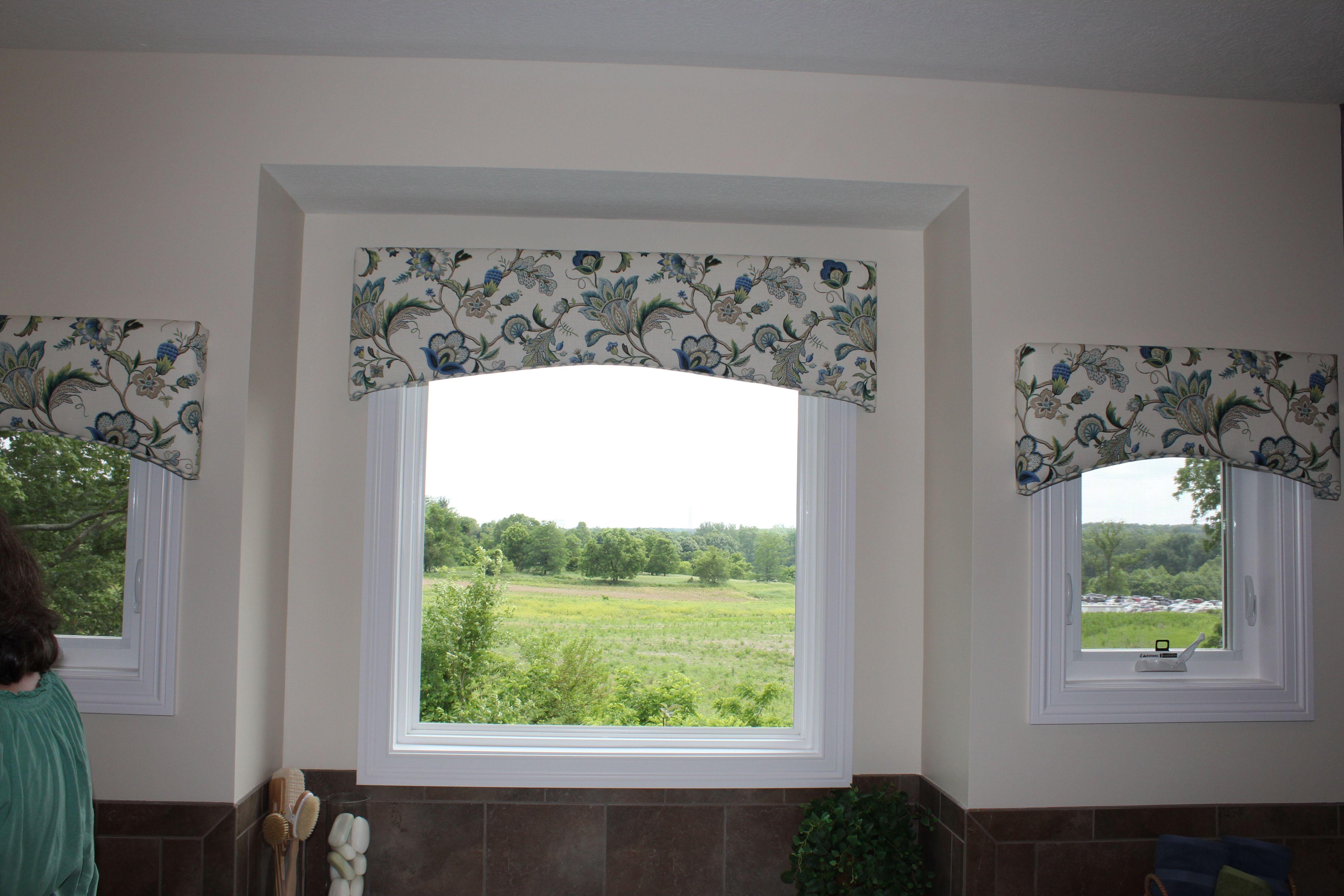 Bathroom valance | Bathroom valance, Bathroom windows ...