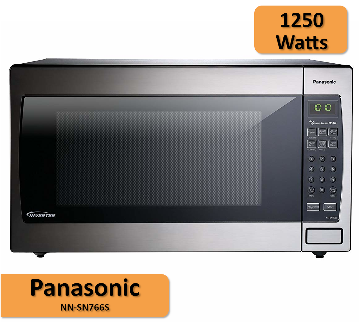 Enjoy Faster Cooking Times With 1250 Watts High Power Panasonic Microwavewatts Kitchenhelper Microwave Kitchen Helper Range Microwave