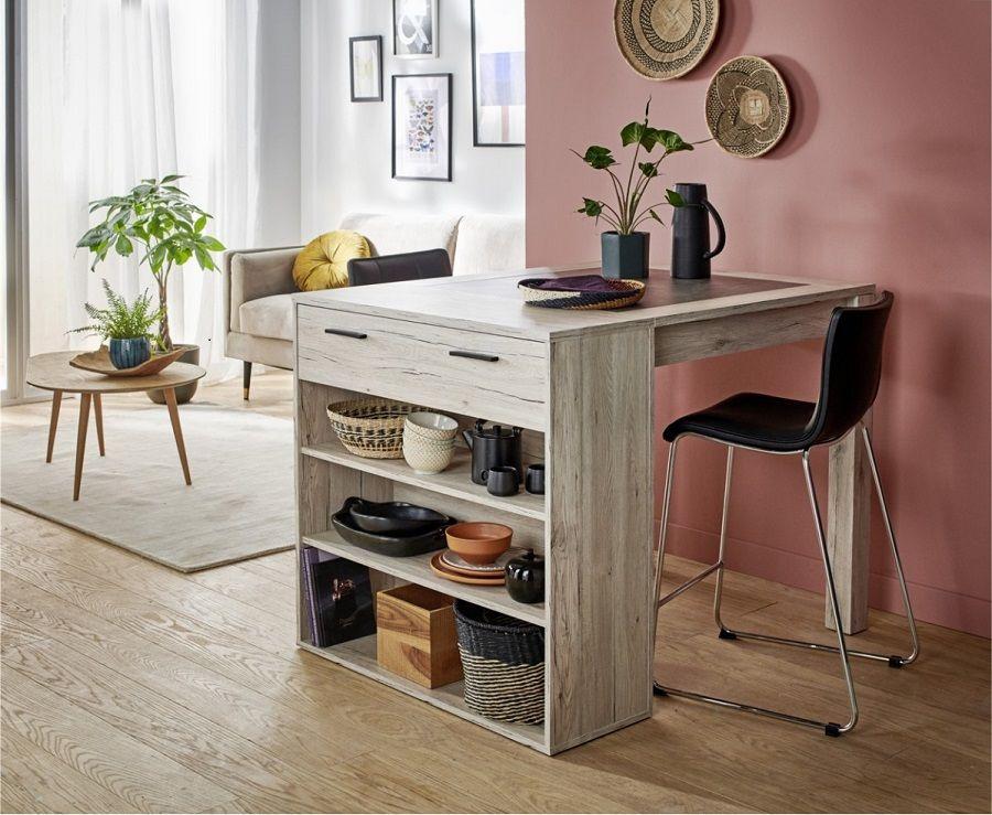 Mange Debout Rectangualire Malta Pas Cher Table But Iziva Com En 2020 Mange Debout Mobilier De Cuisine Mobilier De Salon